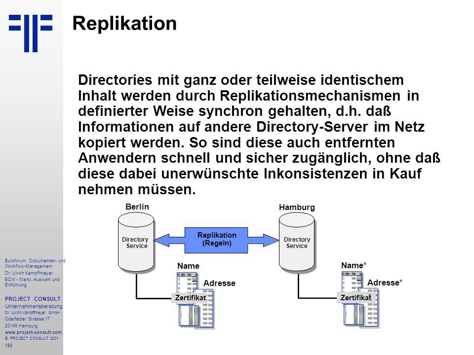 193 Euroforum: Dokumenten- und Workflow-Management Dr.