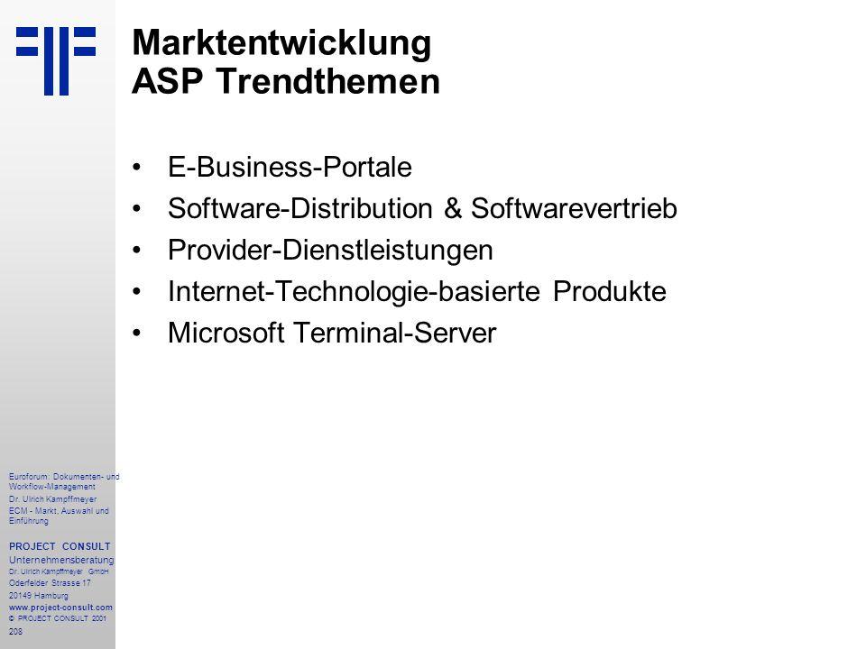 208 Euroforum: Dokumenten- und Workflow-Management Dr.