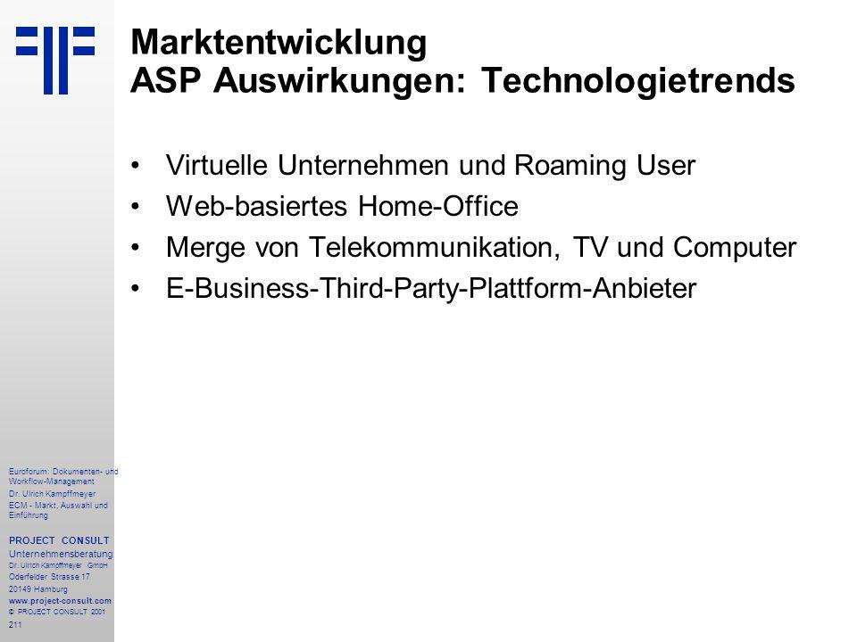 211 Euroforum: Dokumenten- und Workflow-Management Dr.