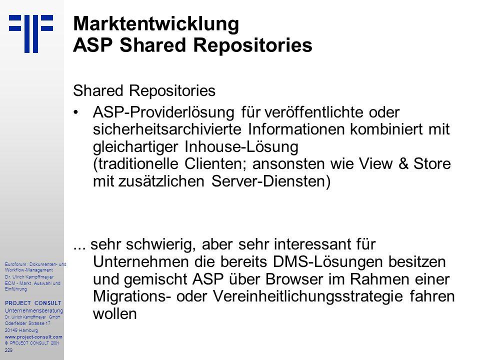 229 Euroforum: Dokumenten- und Workflow-Management Dr.