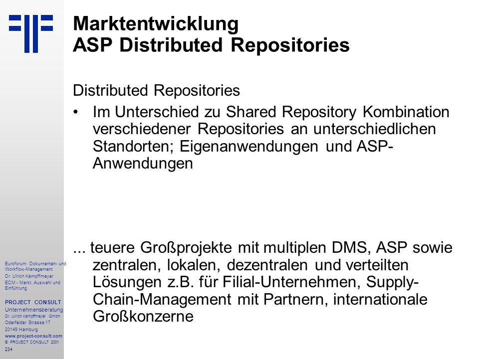 234 Euroforum: Dokumenten- und Workflow-Management Dr.