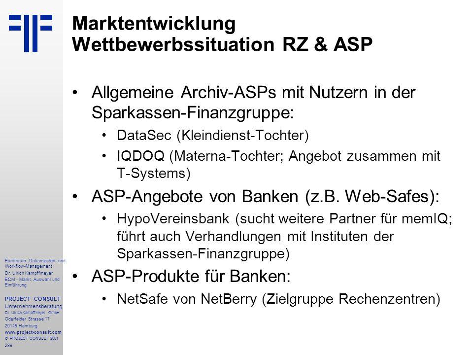 239 Euroforum: Dokumenten- und Workflow-Management Dr.