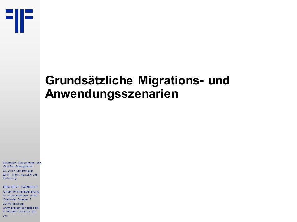 240 Euroforum: Dokumenten- und Workflow-Management Dr.