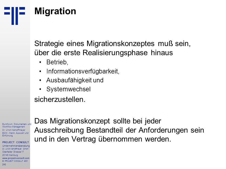 243 Euroforum: Dokumenten- und Workflow-Management Dr.