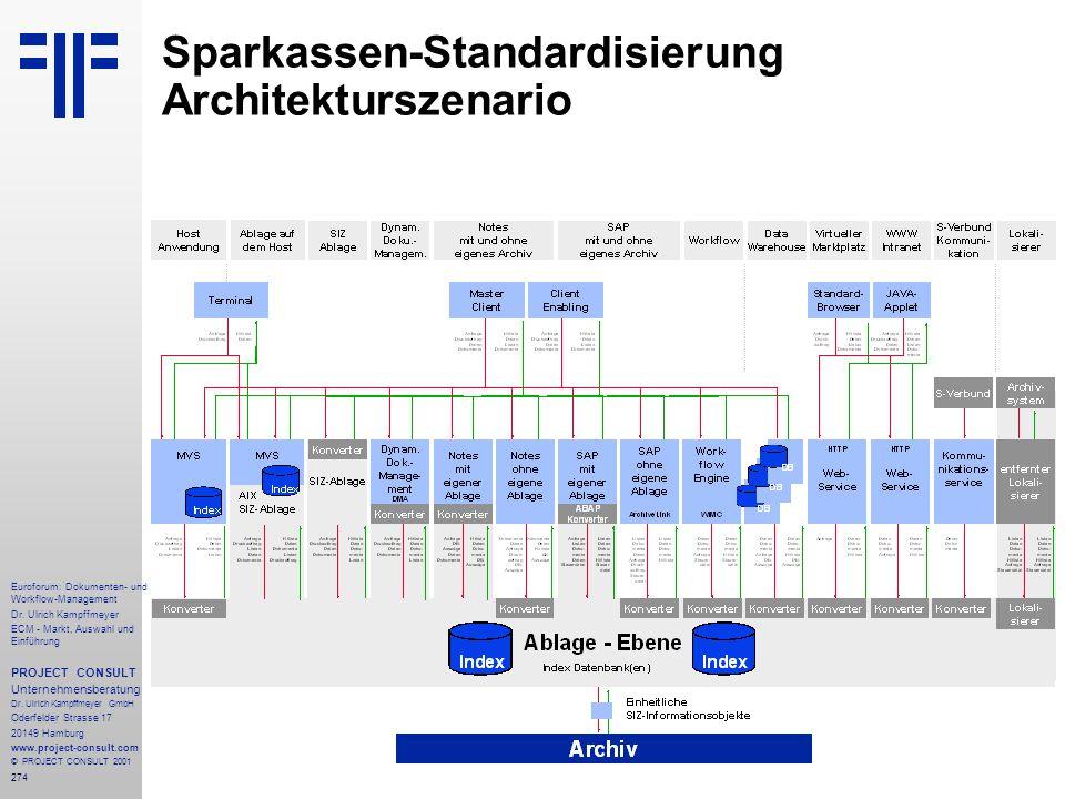 274 Euroforum: Dokumenten- und Workflow-Management Dr.