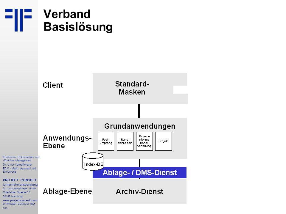 280 Euroforum: Dokumenten- und Workflow-Management Dr.