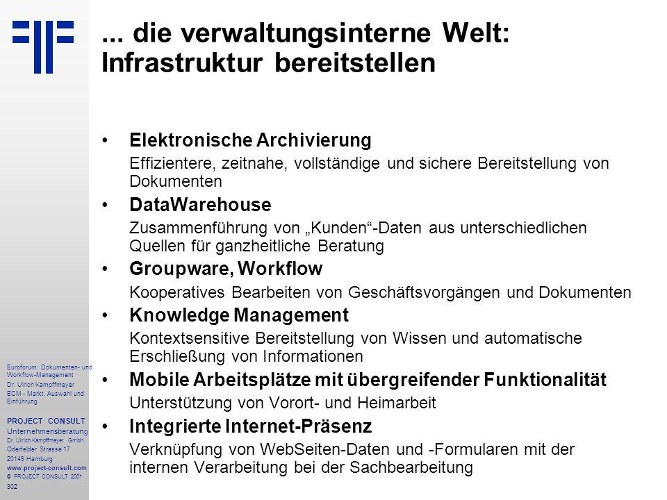 302 Euroforum: Dokumenten- und Workflow-Management Dr.