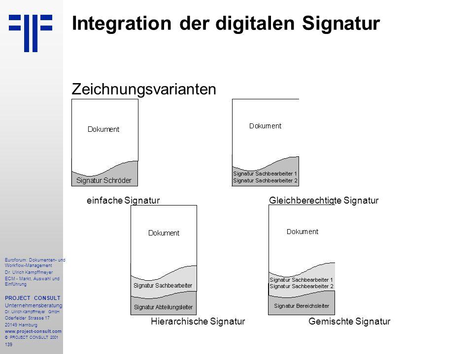 139 Euroforum: Dokumenten- und Workflow-Management Dr.