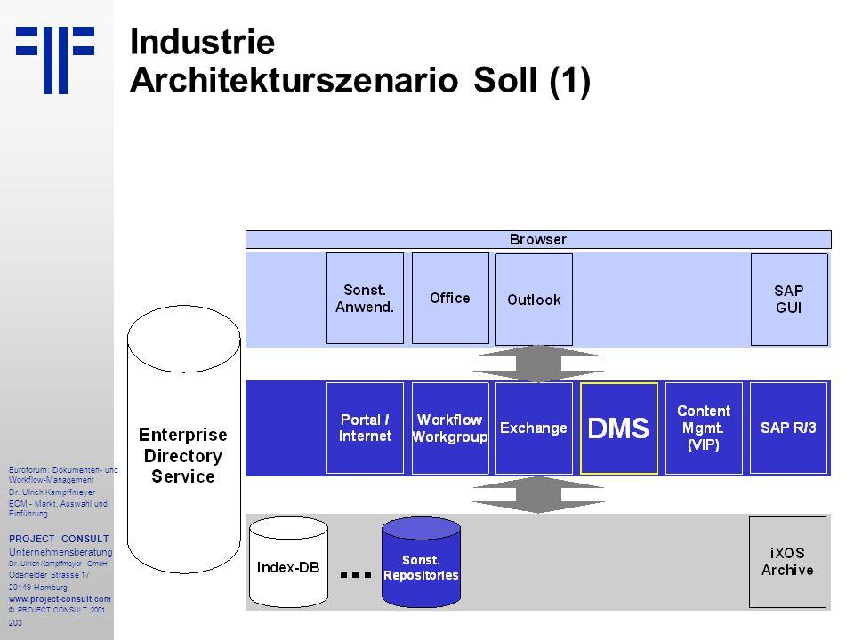 203 Euroforum: Dokumenten- und Workflow-Management Dr.