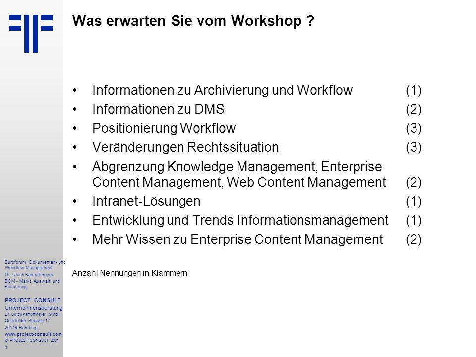 3 Euroforum: Dokumenten- und Workflow-Management Dr.