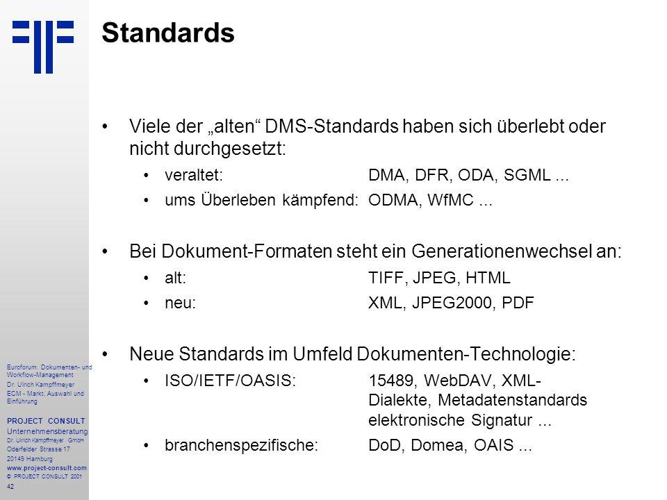 42 Euroforum: Dokumenten- und Workflow-Management Dr.