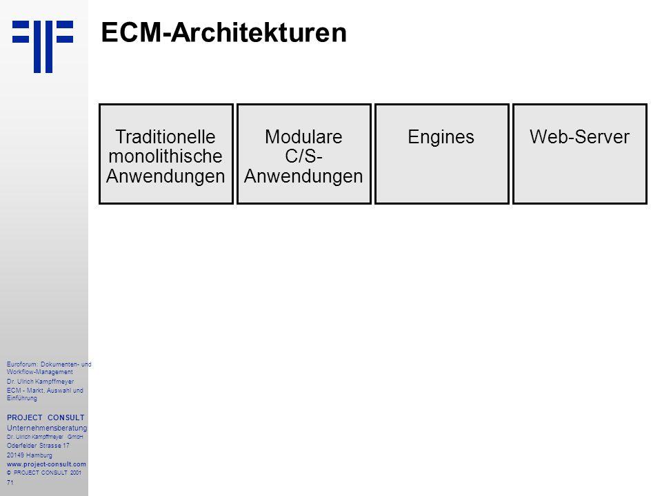 71 Euroforum: Dokumenten- und Workflow-Management Dr.