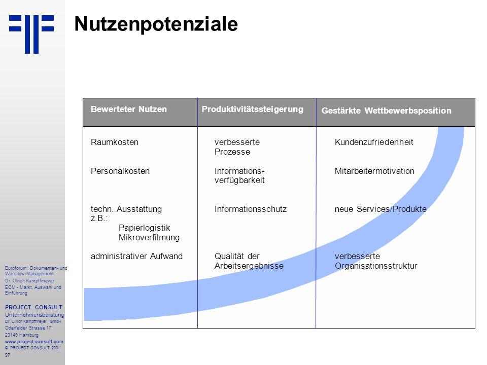 97 Euroforum: Dokumenten- und Workflow-Management Dr.
