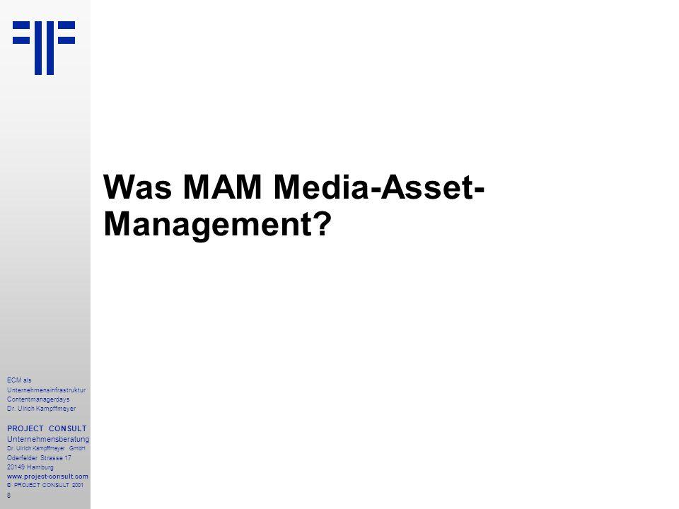 8 ECM als Unternehmensinfrastruktur Contentmanagerdays Dr.