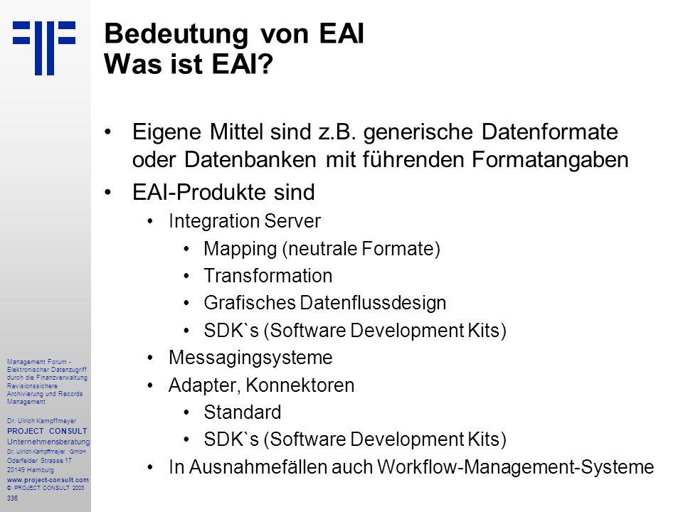 336 Management Forum - Elektronischer Datenzugriff durch die Finanzverwaltung Revisionssichere Archivierung und Records Management Dr. Ulrich Kampffme