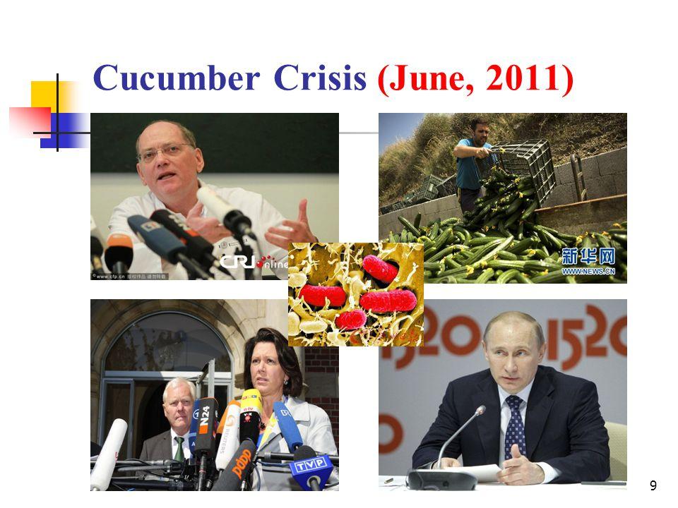 9 Cucumber Crisis (June, 2011)