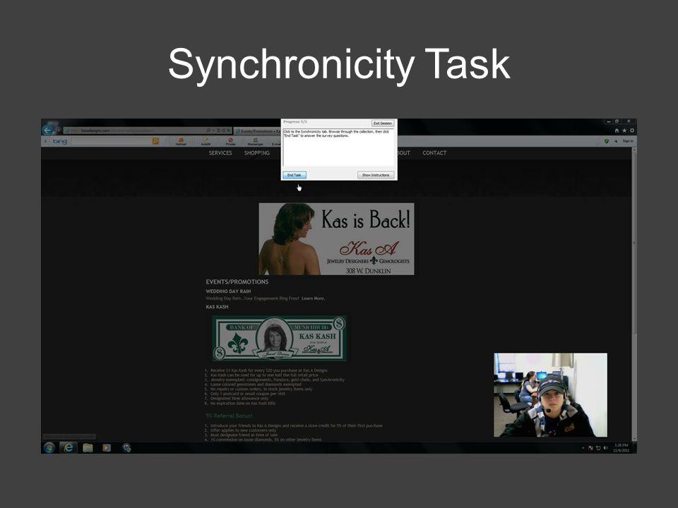Synchronicity Task