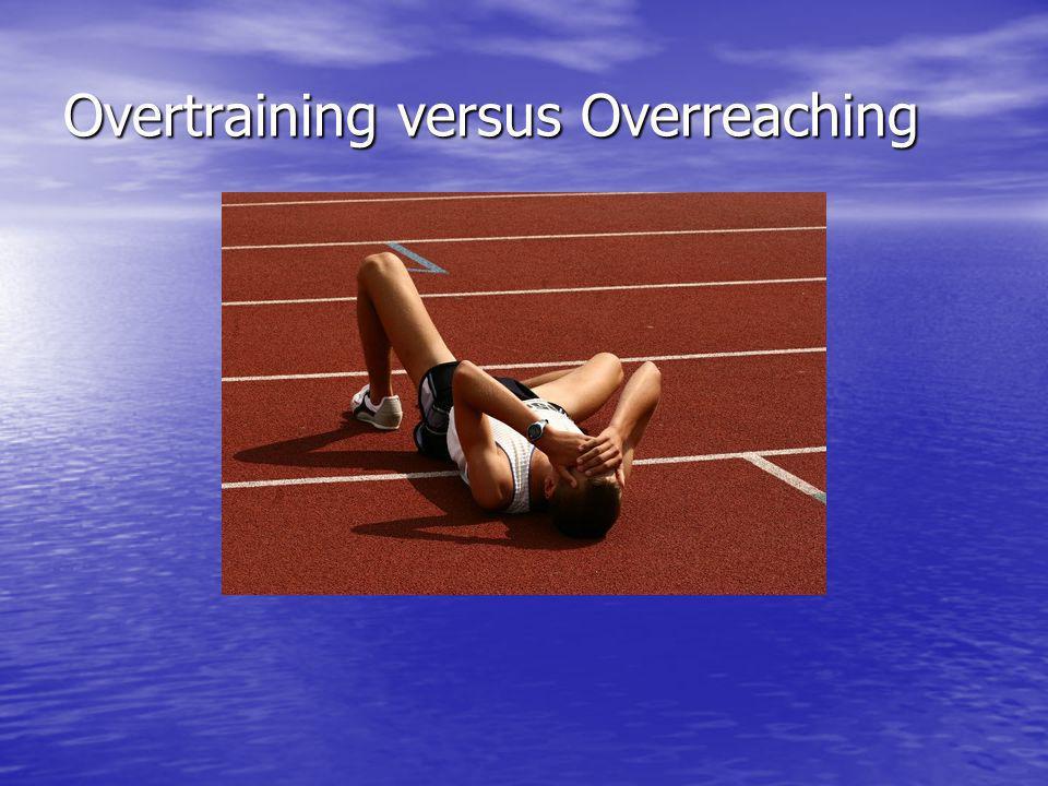 Overtraining versus Overreaching