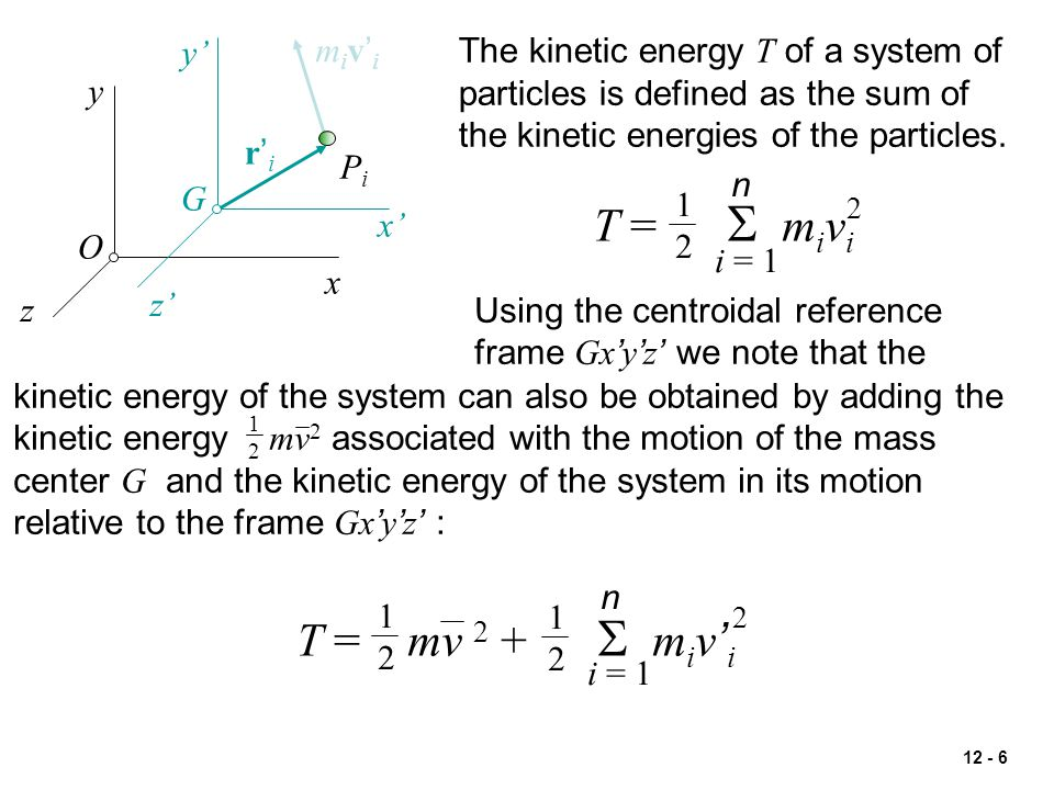 12 - 27 Conservation of linear momentum and conservation of energy.