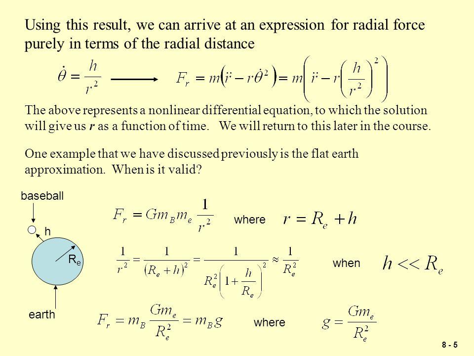 8 - 6 Example Problem