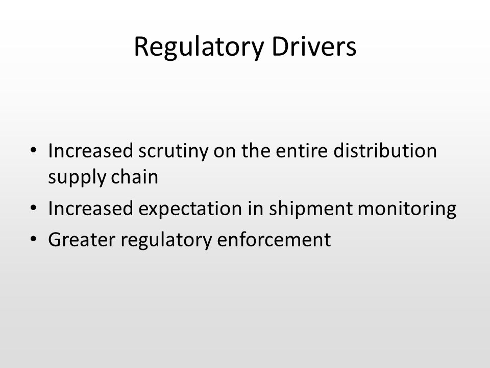Collaboration resulted in a new set of Regulations...
