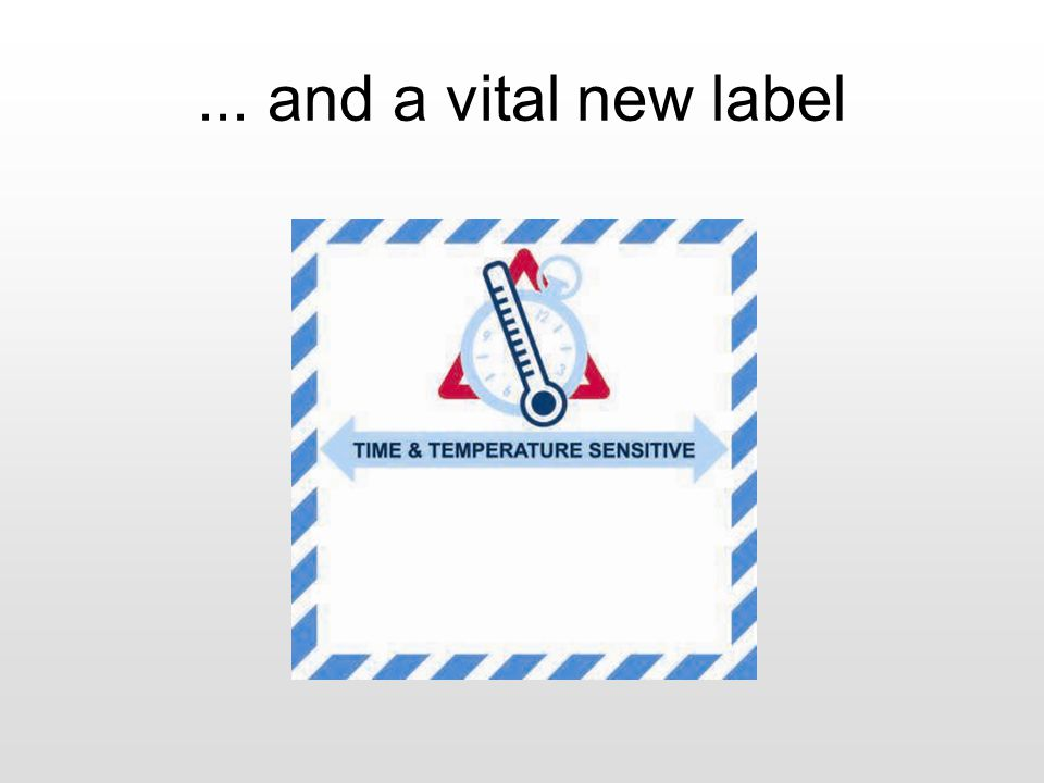 ... and a vital new label
