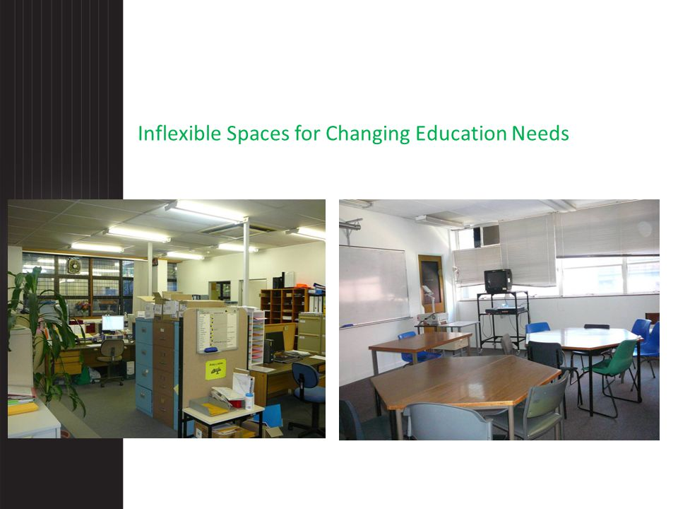 Inflexible Spaces for Changing Education Needs
