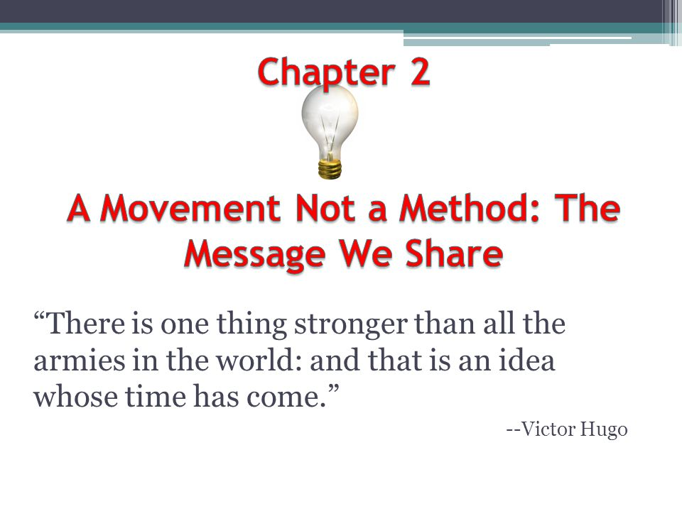 Chapter 22 Church Planting Following Jesus into the mission field is either impossible or extremely difficult for the vast majority of congregations in the Western world because of one thing: They have a systems story that will not allow them to take the first step out of the institution into the mission field, even through the mission field is just outside the door of the congregation.