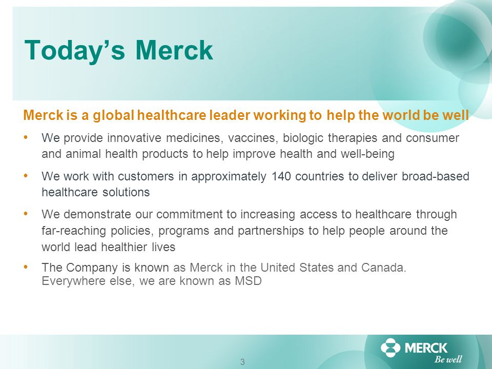 4 Business Case for Supplier Diversity Reduce costs / Increase revenue / Leverage innovation Demographic shift – customers and suppliers Support wealth creation in the communities in which we do business Build brand loyalty & brand visibility Enables us to better understand and anticipate the needs of the people we serve Supports Merck's Corporate Social Responsibility goals and policies including Merck's Diversity and Inclusion initiatives Support Commercial and Government contracts (U.S.) It's the right thing to do