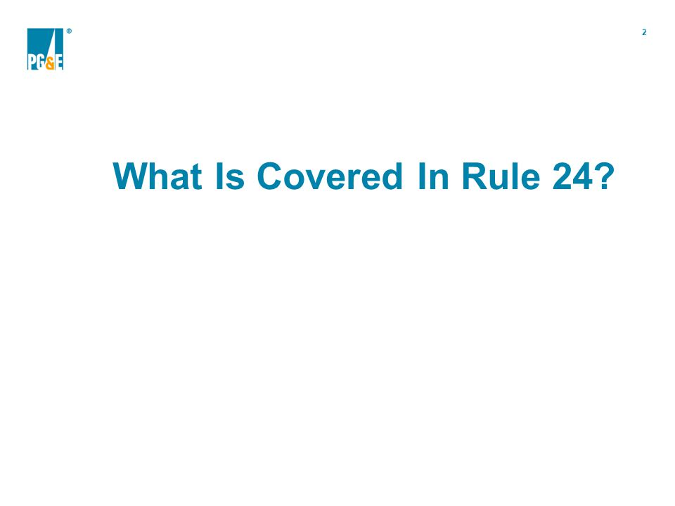 3 Section A – Applicability Generally describes the purpose of the rule and its intended audience.