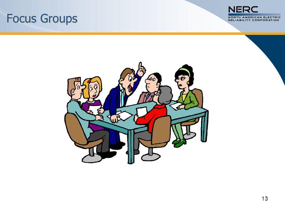 13 Focus Groups