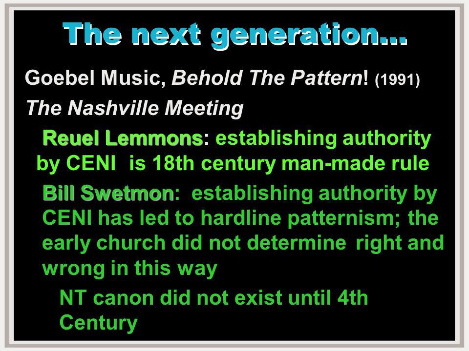 II II Worldliness In The Church NT is replete w.warnings.