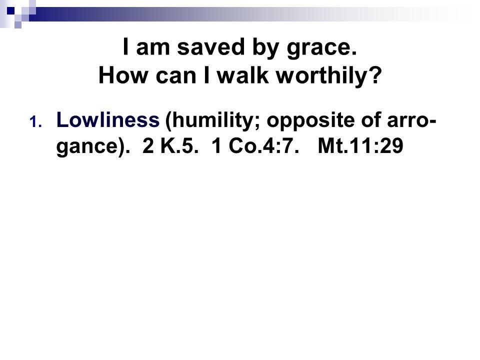 I am saved by grace.Does God want unity.