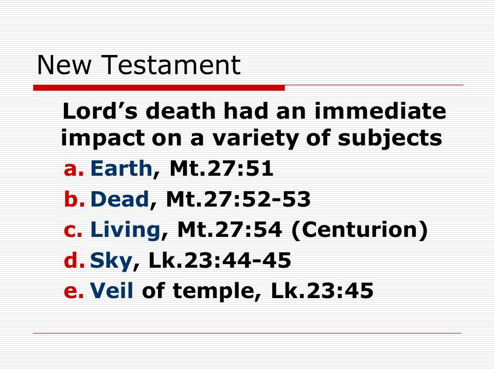 f.Spectators, Lk.23:48 g. Joseph, Lk.23:50-54 h. Disciples, Jn.20:19…; Ac.2… i.