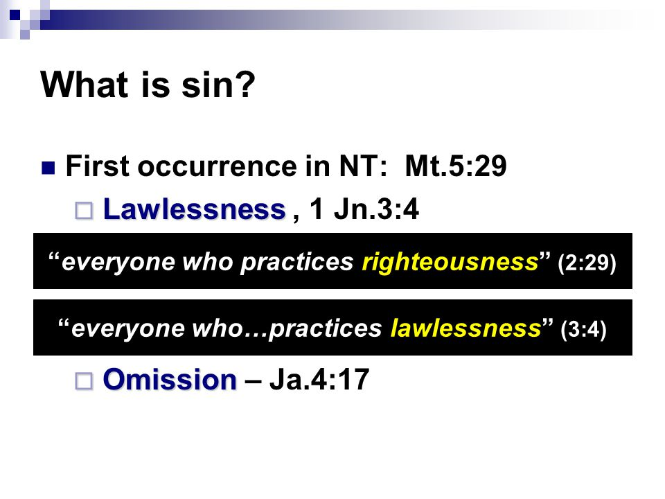 I. Why Do Most Think Sin Is Harmless?