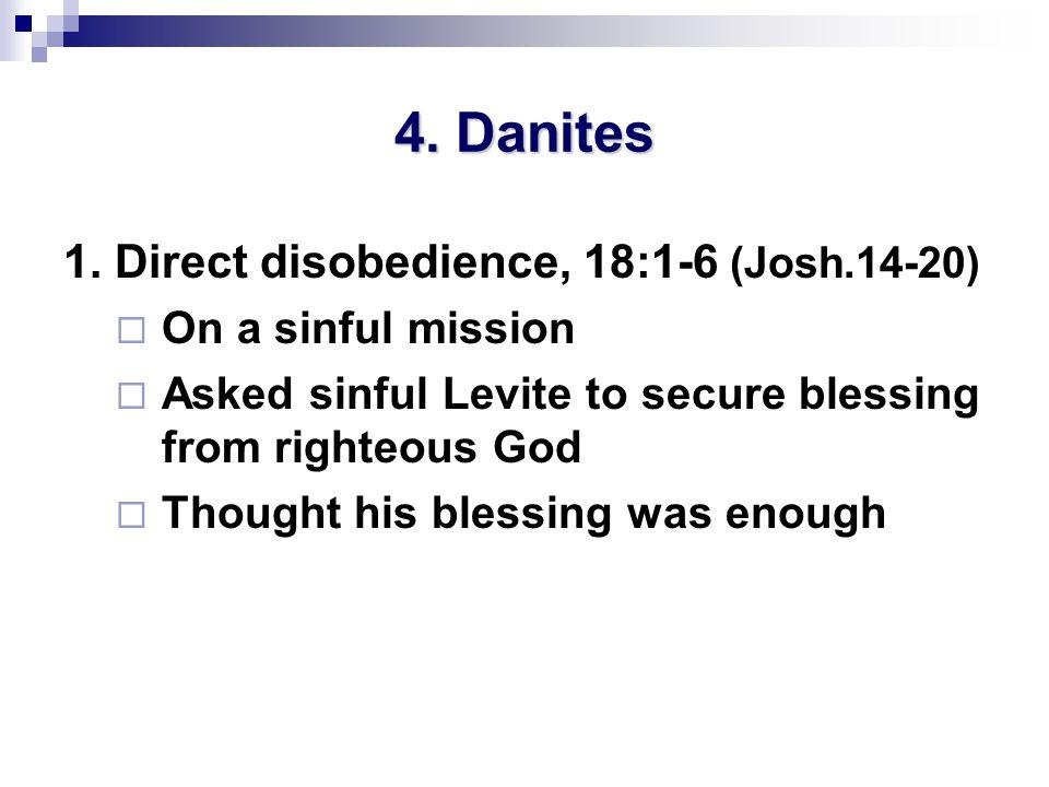 4. Danites 1.