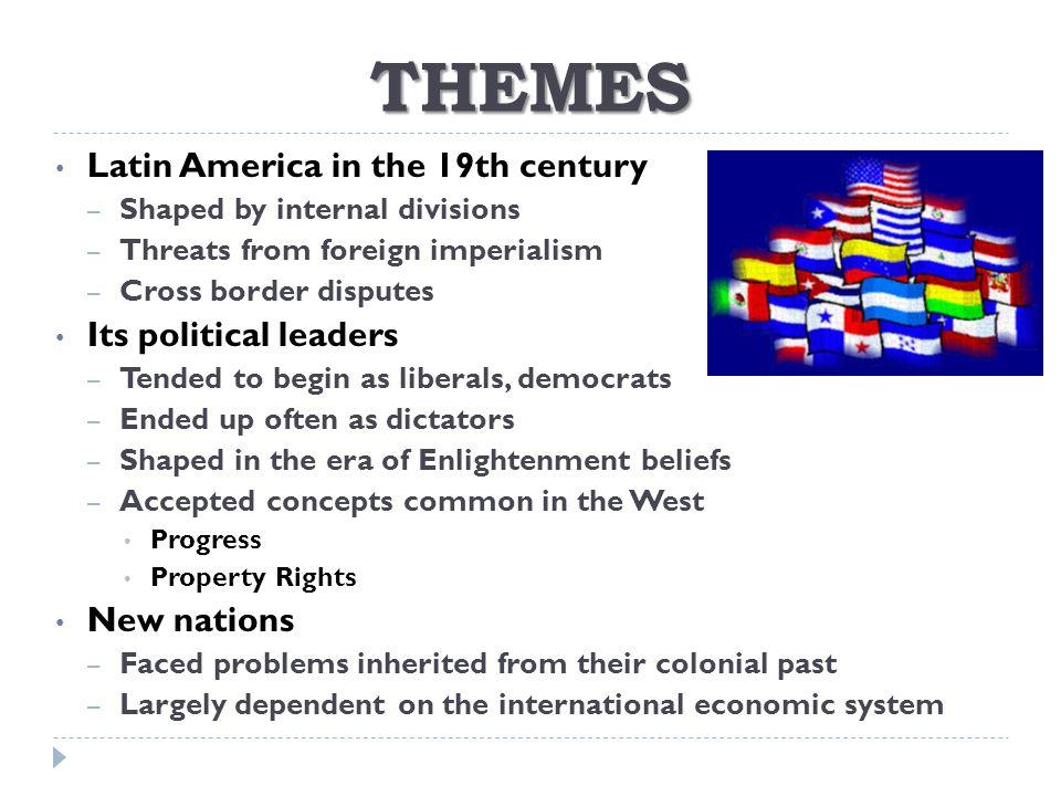 THE US IN LATIN AMERICA