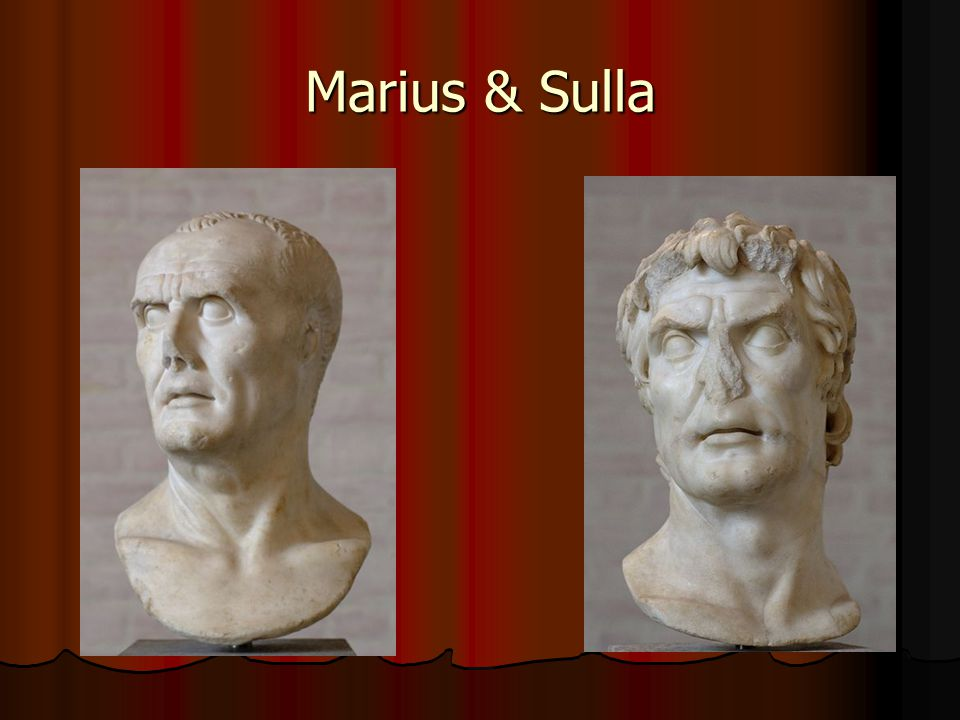 Collapse of the Republic 82-31 BC: 50 years of Civil War 82-31 BC: 50 years of Civil War Crassus, Pompey & Julius Caesar rise Crassus, Pompey & Julius Caesar rise First triumvirate First triumvirate Crassus dies in battle, Senate decides Pompey should be only ruler Crassus dies in battle, Senate decides Pompey should be only ruler Caesar refuses to give up power, brings army across Rubicon River, attack Rome Caesar refuses to give up power, brings army across Rubicon River, attack Rome Pompey dies, Caesar only ruler left Pompey dies, Caesar only ruler left 45 BC: Caesar=dictator; assassinated 44 BC 45 BC: Caesar=dictator; assassinated 44 BC