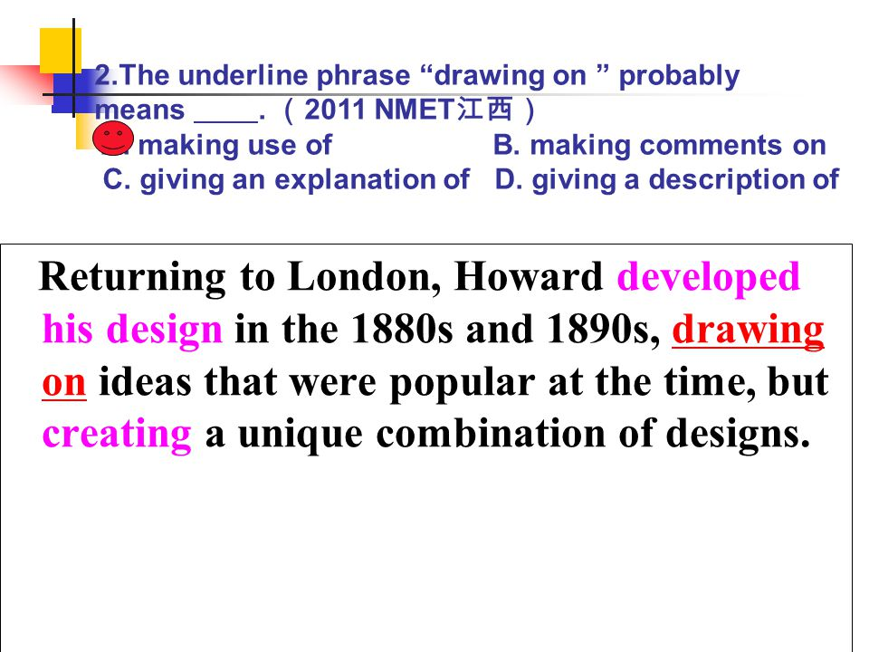 Returning to London, Howard developed his design in the 1880s and 1890s, drawing on ideas that were popular at the time, but creating a unique combina