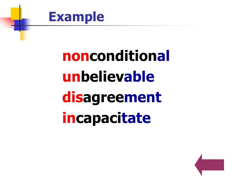 man-made, win-win, underwear, heart-to-heart 合成法 ( Compounding ) 两个或两个以上的词组成一个新的单词。