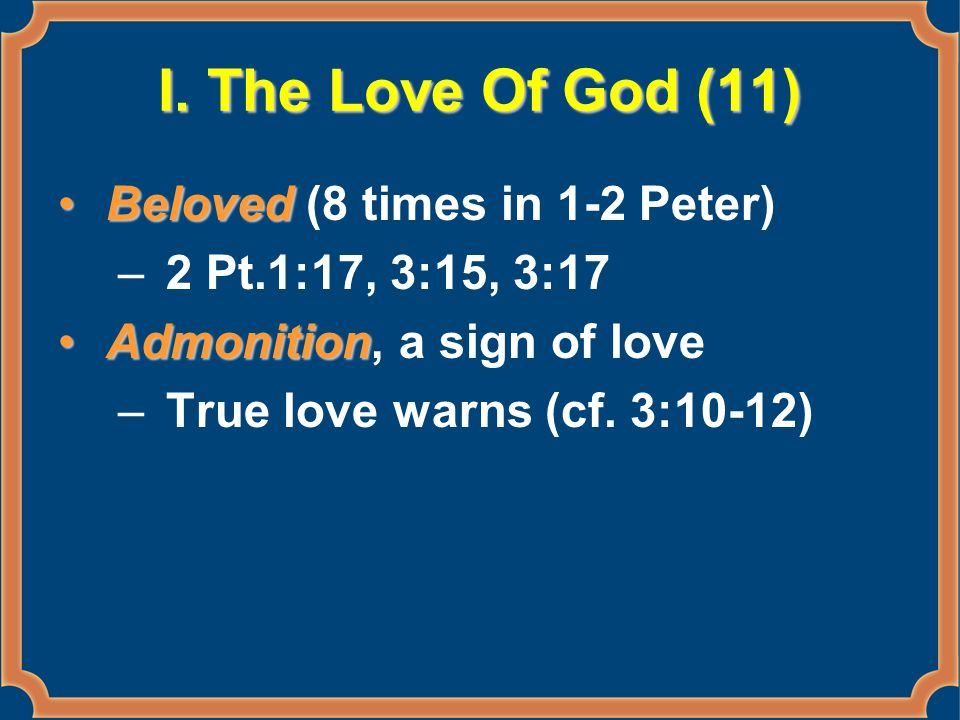 Sin – Three Times 1 Pt.2:22, Christ 1 Pt.4:1, Christians 2 Pt.2:14, others –Arm...