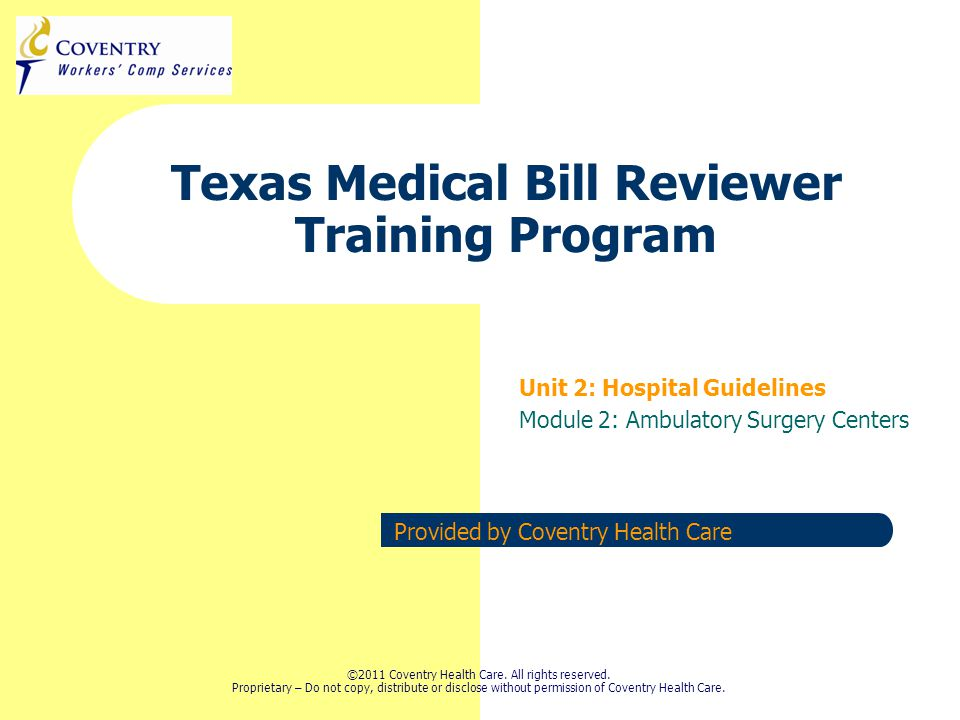 16 Texas Regulations Training August 2011 Overview  Ambulatory Surgery Center Guidelines  Implants  DME Welcome to the world of ASCs.