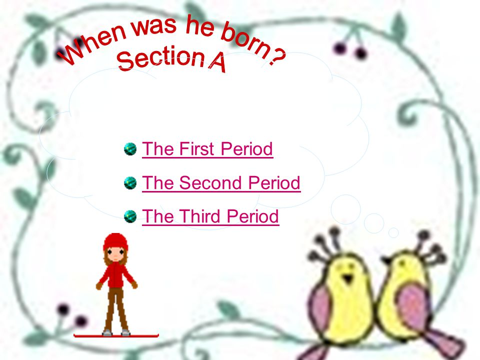 首页 The First Period The Second Period The Third Period