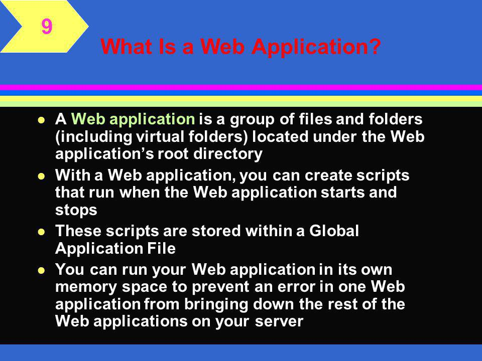 What Is a Web Application.