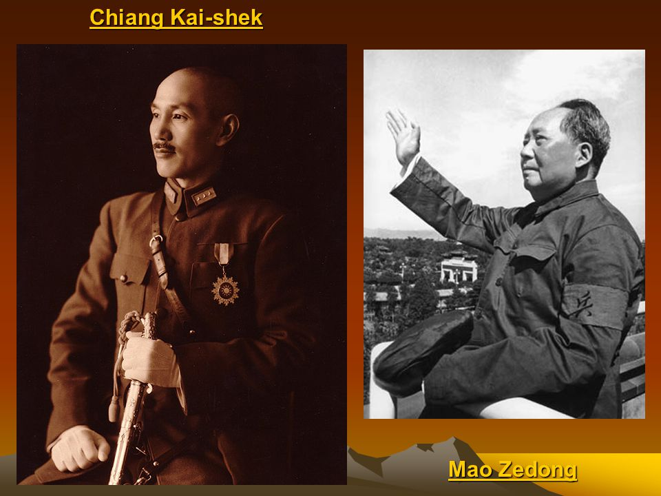 Continued….The U.S. did not want China to become a communist country During WWII the U.S.