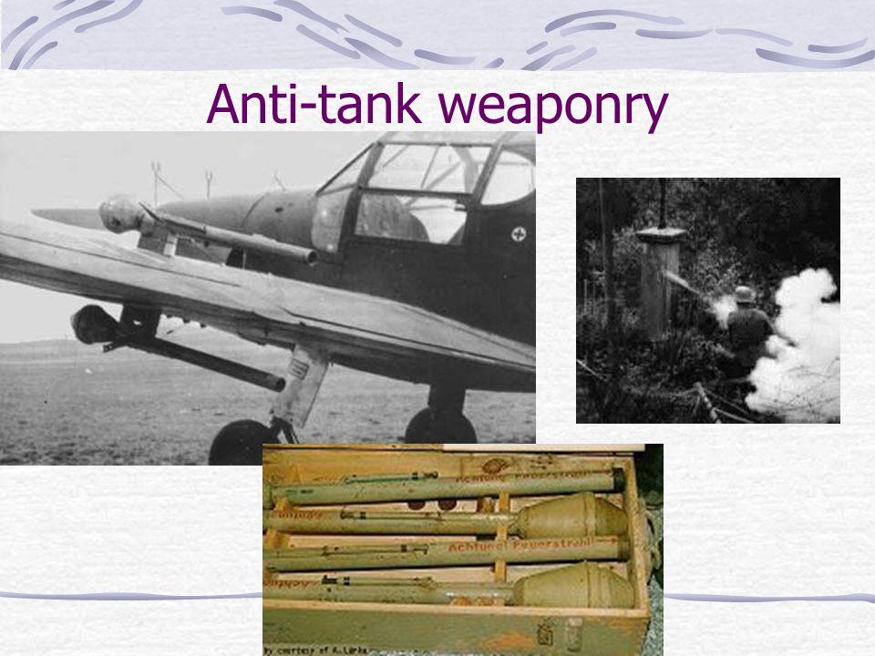 Anti-tank weaponry