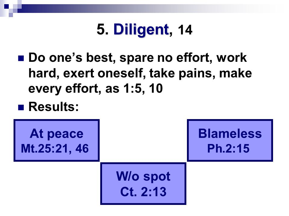 Diligent 5.