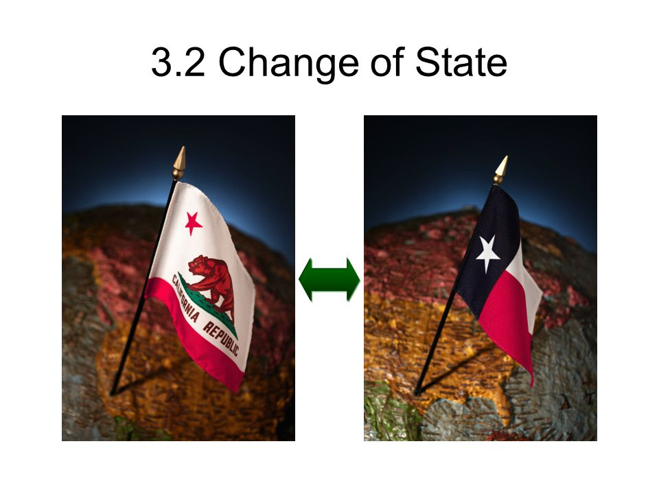 3.2 Change of State