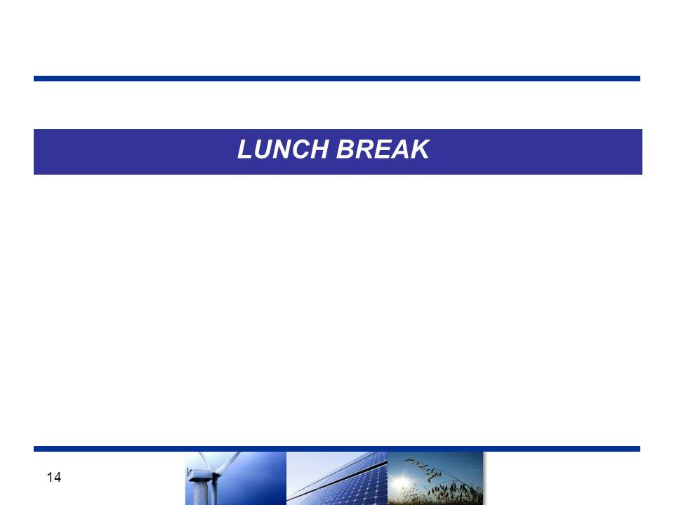 LUNCH BREAK 14