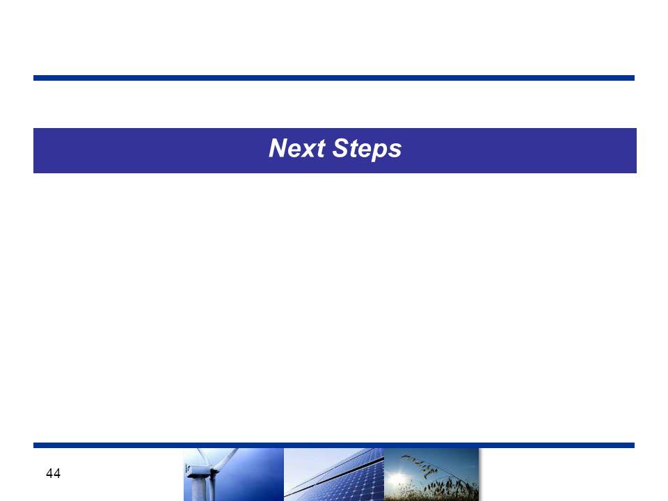 Next Steps 44